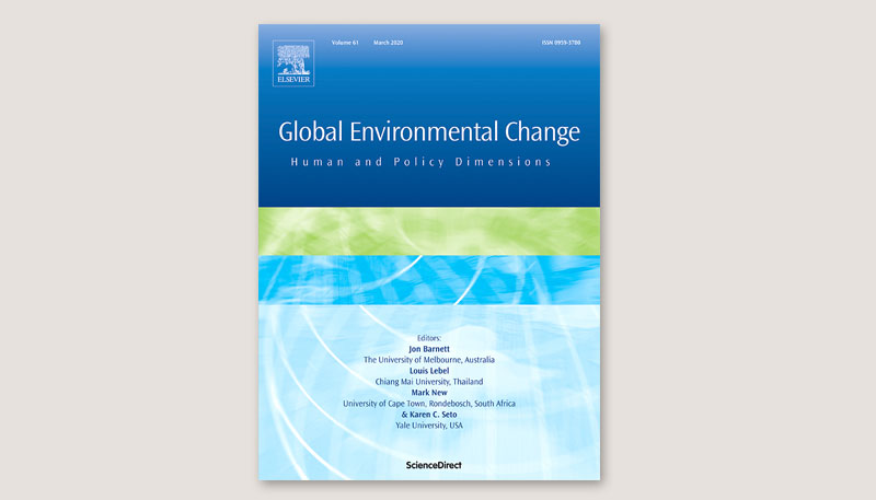 Cover Global Environmental Change